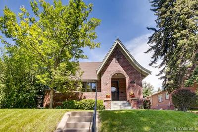Denver Single Family Home Active: 1278 Dexter Street