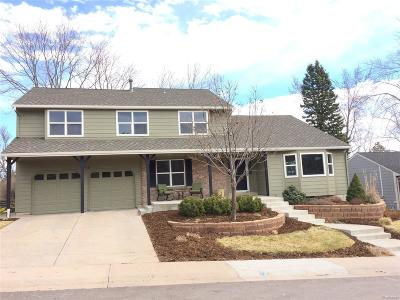Littleton Single Family Home Under Contract: 7778 South Waverly Mountain