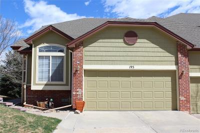Superior Condo/Townhouse Under Contract: 2855 Rock Creek Circle #193