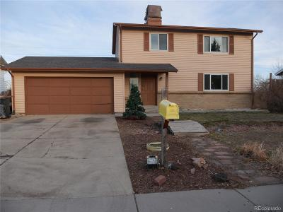 Broomfield Single Family Home Active: 13308 Alcott Circle
