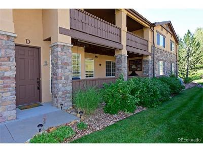 Littleton Condo/Townhouse Active: 9856 West Freiburg Drive #D