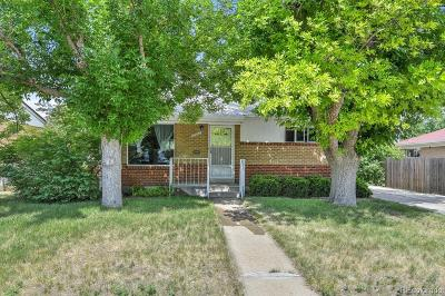 Denver Single Family Home Active: 6950 Morrison Drive