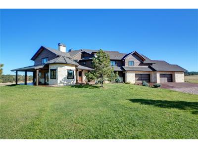 Douglas County Single Family Home Active: 12605 Crowfoot Springs Road