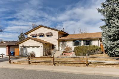 Aurora Single Family Home Under Contract: 16941 East Eastman Place