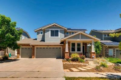 Aurora Single Family Home Active: 24745 East Gunnison Drive