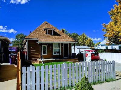 Denver Single Family Home Active: 625 Osceola Street