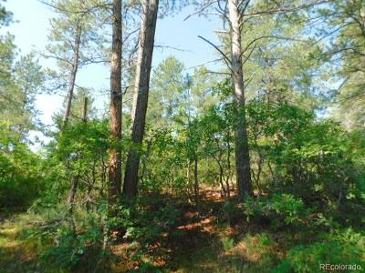 Larkspur CO Residential Lots & Land Active: $99,000