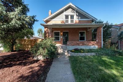 Denver Single Family Home Active: 2653 Jasmine Street