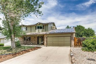 Littleton Single Family Home Under Contract: 964 Mercury Circle