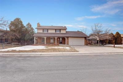 Castle Rock Single Family Home Active: 913 Mountain View Drive