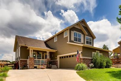Castle Rock Single Family Home Under Contract: 4016 Sunridge Terrace Court