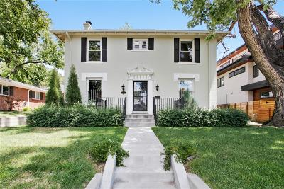 Denver Single Family Home Under Contract: 454 South Emerson Street
