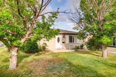 Adams County Single Family Home Active: 7110 Vrain Street