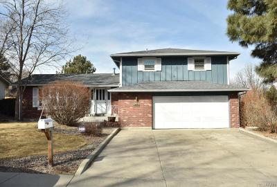 Arvada Single Family Home Active: 6789 Van Gordon Street