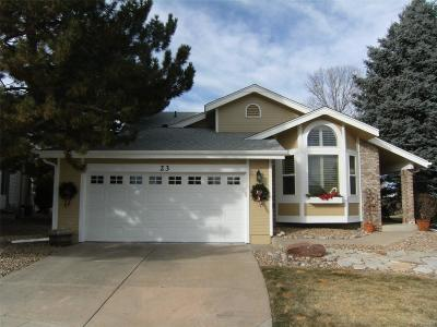 Highlands Ranch Single Family Home Active: 23 Canongate Lane