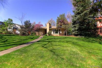 Denver Single Family Home Active: 1059 Monaco Parkway