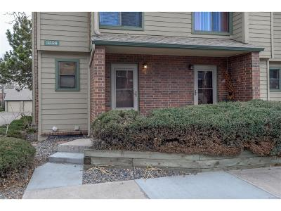 Lakewood Condo/Townhouse Under Contract: 3556 South Depew Street #1
