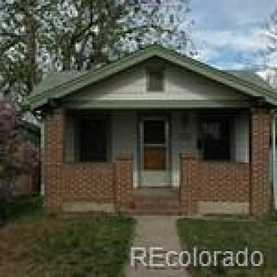 Denver Single Family Home Active: 2474 South Cherokee Street