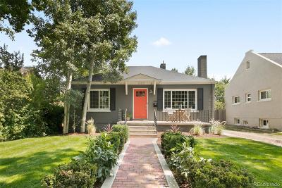 Denver Single Family Home Active: 1360 Pontiac Street