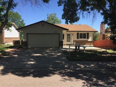 Aurora Single Family Home Active: 17535 East Villanova Place