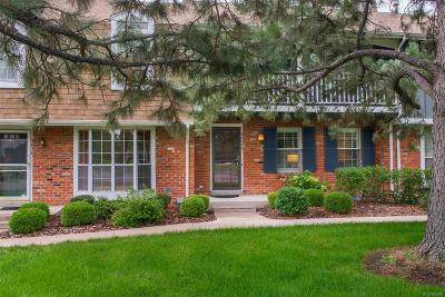 Denver Condo/Townhouse Under Contract: 9030 East Cherry Creek South Drive #C