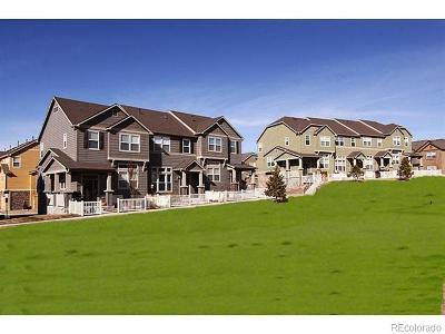 Castle Rock CO Condo/Townhouse Under Contract: $310,000