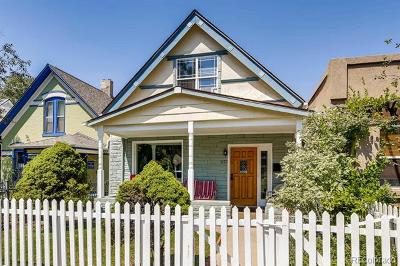 Denver Single Family Home Active: 327 Fox Street