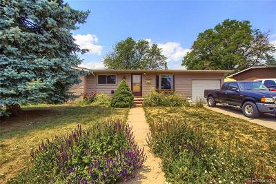 Denver Single Family Home Under Contract: 7879 Greenleaf Lane