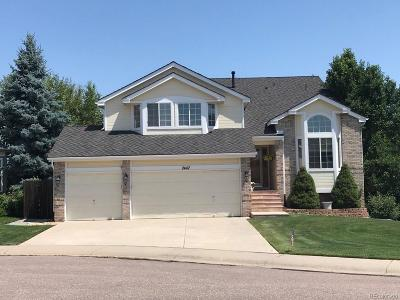 Lone Tree Single Family Home Active: 7447 Indian Wells Lane