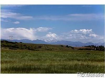 Sedalia CO Residential Lots & Land Active: $985,000