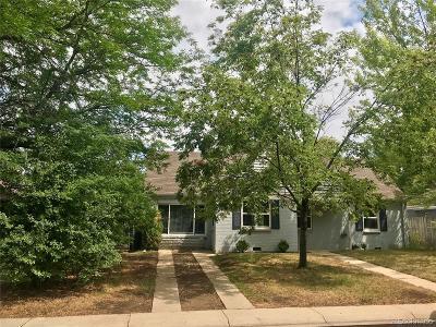 Denver Single Family Home Active: 422 Orange Court