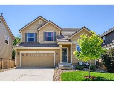 Castle Rock Single Family Home Active: 4214 Kestrel Place