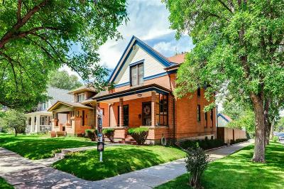 Denver Single Family Home Active: 1701 South Clarkson Street