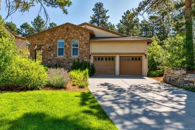 Castle Rock CO Single Family Home Active: $800,000