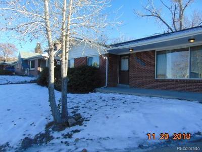 Denver Single Family Home Active: 5550 West 51st Avenue