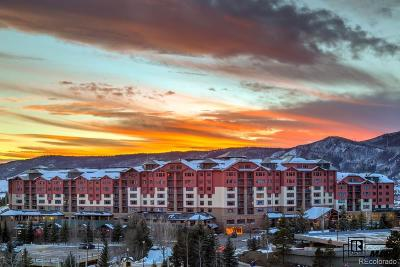 Steamboat Springs Condo/Townhouse Active: 2300 Mt. Werner 705 Qia, Qib, Qiva, Qivb Circle #Penthous