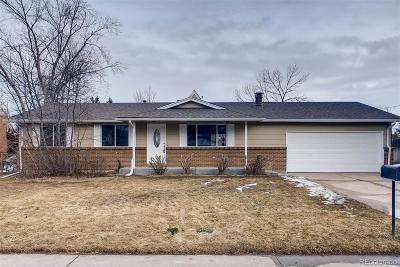 Littleton CO Single Family Home Under Contract: $419,900