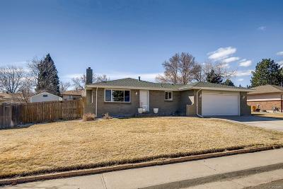 Littleton Single Family Home Active: 10886 West Tufts Drive