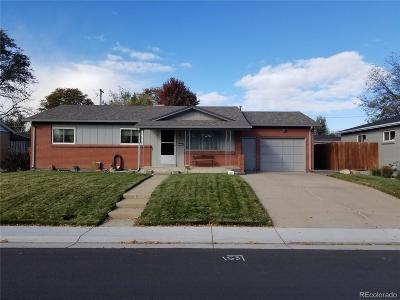 Arvada Single Family Home Active: 6067 Independence Street