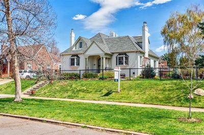 Denver Single Family Home Active: 1166 Hudson Street