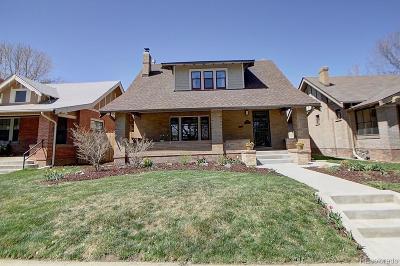 Denver Single Family Home Active: 2307 Grape Street
