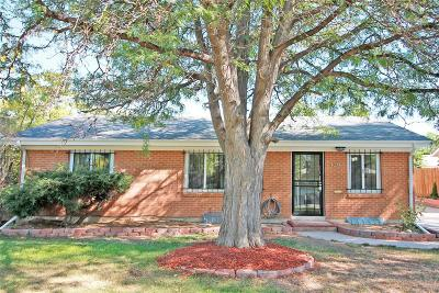 Aurora Single Family Home Under Contract: 942 Jamaica Court