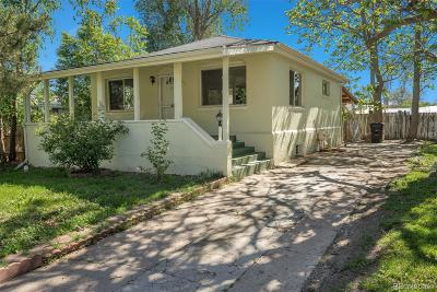 Denver Single Family Home Active: 668 South Lowell Boulevard