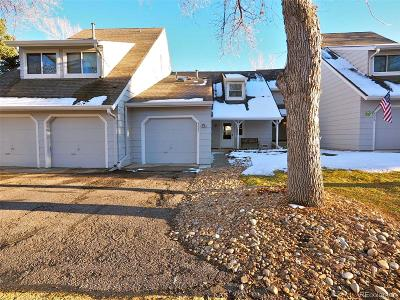 Littleton Condo/Townhouse Active: 8032 South Culebra Peak