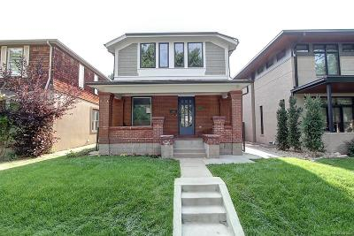 Denver Single Family Home Under Contract: 1724 South Clarkson Street
