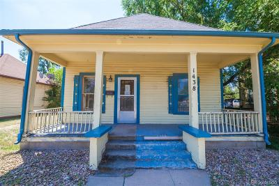 Greeley Single Family Home Active: 1438 10th Street