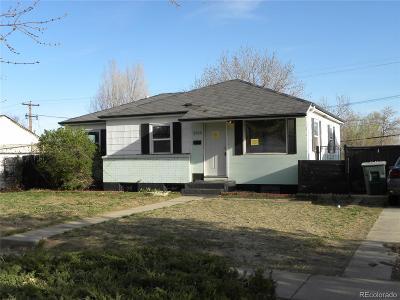 Thornton Single Family Home Active: 2580 Poze Boulevard