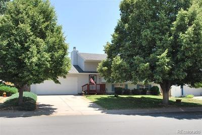 Aurora Single Family Home Active: 1114 South Biscay Street