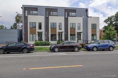 Denver Single Family Home Active: 812 East 25th Avenue