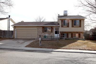 Aurora Single Family Home Under Contract: 16530 East Gunnison Place